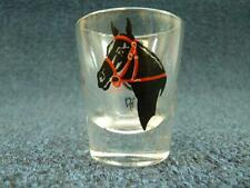 "Horse & Riding Gear Shot Glass 2.25"" tall (767)"