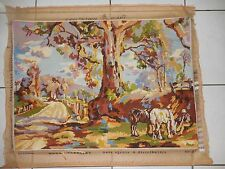 TAPESTRY PICTURE COMPLETED COLLECTION D'ART AUSTRALIAN SERIES REGAL
