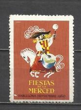 3042-viñeta nueva** fiestas de la merced año 1960