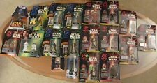 WOWEE!! *19* STAR WARS ACTION FIGURES: POWER OF FORCE, EPISODE 1/CommTech++ NIB!