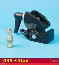 Manfrotto 035 Super Clamp with Lighting Stud 3/8'' Mfr # 035 + 036-38