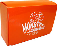 (1) BCW-MB-DD-MOR Orange Double Deck Trading Card Game Box Monster Protectors