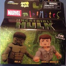 Marvel Minimates Series 22 Hulk & Bruce Banner Mini Figures 2-Pack - Art Asylum