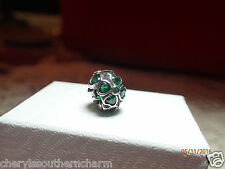 LUCKY CLOVER CHARM ,925 STERLING SILVER, IRELAND