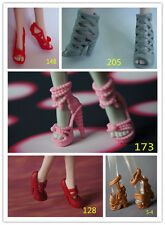 2015 New 5 Style High Heel Shoes Boots Create a Monster High Doll For Children