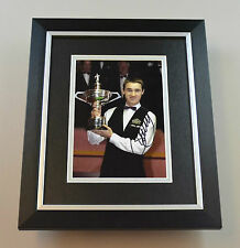 Stephen Hendry Signed 10x8 Photo Framed Snooker Memorabilia Autograph Display