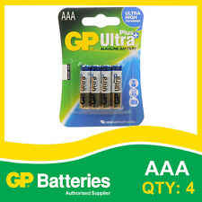 GP Ultra Plus Alkaline AAA Battery card of 4 [MP3, CAMERAS GAMES CONSOLES]