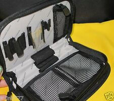 New Sanofi Aventis Black Cosmetic Case-Multiple Slots Inside