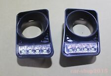 Holden LED DRL Bumper Bar Fog Light Covers for Commodore VE Series 1 SV6 SSV SS