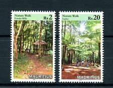 Mauritius 2016 MNH Nature Walks 2v Set Plants Trees Stamps