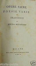 METASTASIO_BETULIA_CIOCCOLATO_CACCIA_ORAZIO_GELOSIA_EPITALAMI_CANZONETTE_CANTATE