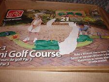 Step 2 Par 3 Mini Golf Course 21 Pc Indoor/Outdoor Putt Putt Golf-MISSING 1 BALL