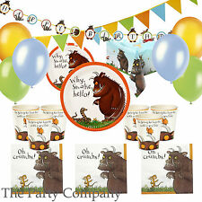 The Gruffalo Party Deluxe Party Kit for 12 guests Plates, Cups, Napkins & More!