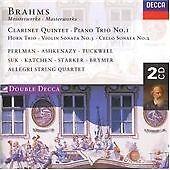 Brahms - Clarinet Quintet; Piano Trio No. 1; Violin & Cello Sonata (2CD 1997)