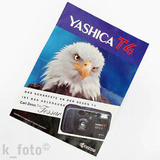 Yashica t4 folleto