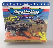 GALOOB MICRO MACHINES FREEDOM FORCE #1 terrestri, AEREI, MARITTIMI Team (ultimo) SIGILLATO