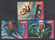 CAPTAIN SCARLET (Cards Inc/2001) Complete BONUS CASE TOPPER CARD SET BT1 BT2 BT3
