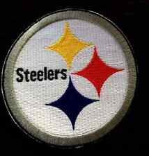 "New Pittsburgh Steelers 4"" Inch  Iron on Patch Free Shipping"