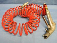 Saftair SAF-T-AIR Model STA-2R Industrial Air Hose Blow Gun Assembly & Hose