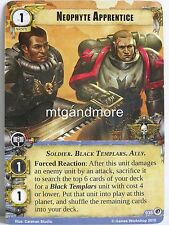 Warhammer 40000 Conquest LCG - Neophyte Apprentice  #035 - Boundless Hate