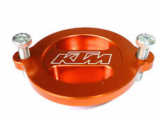 KTM RC8 / RC8R 2008 - ONWARDS OIL FILTER COVER CAP ORANGE ENGRAVED NEW B12J
