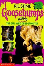 The Girl Who Cried Monster (Goosebumps Presents TV Episode #1) Megan Stine, Cha