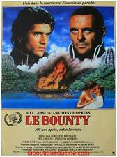 LE BOUNTY Affiche Cinéma / Movie Poster MEL GIBSON ANTHONY HOPKINS 53x40