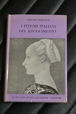 I pittori italiani del Rinascimento - Bernard Berenson- Ed. Sansoni -saggistica