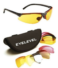 Eyelevel Clay Caza Airsoft & Pesca Gafas 5 x Lentes Inastillables UV400