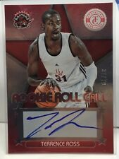 Terrence Ross 2012-13 Totally Certified RED - RC on-card Auto #d 37/79 - RAPTORS