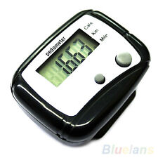 High Quality LCD Step Calorie Counter Fitness Walking Running Distance Pedometer