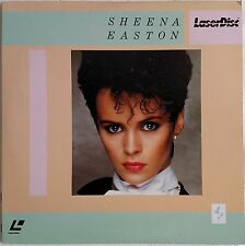 "SHEENA  EASTON 8"" Laserdisc 80's Music Videos ""Morning Train""Telefone"" JAPAN LD"