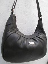 -AUTHENTIQUE  sac besace FUCHSIA Paris  cuir TBEG vintage bag