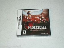 Valkyrie Profile Covenant of the Plume Nintendo DS Unopened Sealed FREE SHIPPING