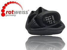MERCEDES C CLASS CLASSIC W203 SHIFT KNOB BOOT BLACK COLOR ROTWEISS Germany