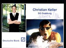 Christian Keller Autogrammkarte Original Signiert + A 134575