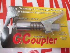 Grease Gun G Coupler Quick Release Lock On Coupling End M10x1 Workshop Farm Agri
