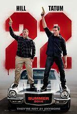 22 Jump Street (2014) Movie Poster (24x36) - Channing Tatum, Jonah Hill NEW