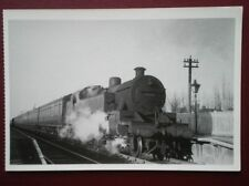 POSTCARD STEAM TRAINS OF CHESHIRE 1949  - LOCO 42357 AT BRAMHALL STATION