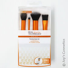 "1 REAL TECHNIQUES Flawless Base Set + Brush Cup ""RT-1533"" *Joy's cosmetics*"