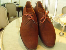 Vintage, Classic HARRODS of Knightsbridge Brand Brown Suede Brogues  9Wide
