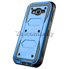 For Samsung Galaxy J3 2016 Protective Rugged Hybrid Rubber Hard Case Cover