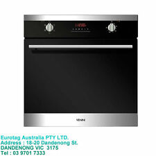 Venini 60cm Electric Oven With 5 Cooking Functions Stainless Steel (BOX DAMAGED)