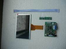 "DIY Monitor 7"" inch LCD AT070TN93 for Raspberry Pi + (HDMI+VGA+2AV) Driver board"
