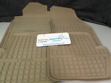 Genuine Volvo 850-V70-S70 Beige All Weather Floor Mat Set OE OEM 9422004