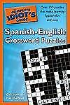 Acc, The Complete Idiot's Guide to Spanish - English Crossword Puzzles, Gaffney,
