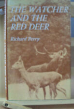 1971 - THE WATCHER AND THE RED DEER by RICHARD PERRY - HB DJ