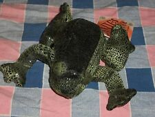 "Russ Berrie Zonies Earth Zone Frog  No. 1353 Flemingon Body w/o Legs 4 3/4"" Long"
