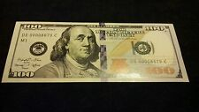 COOL NEWSTYLE $100 BANKNOTE USED IN MOTION PICTURE'S/MUSIC VIDEOS~FREE~SHIPPING