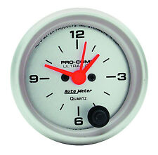 "AUTO METER 4385 ULTRA LITE ELECTRIC CLOCK 2-1/16"" Gauge (52mm)"